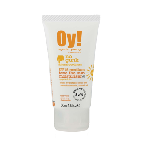 Oy! Organic Young – Face the Sun Moisturiser LSF 15